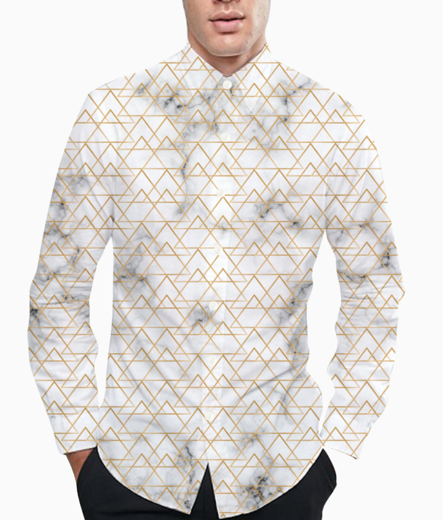 Art deco art  7 basic shirt front