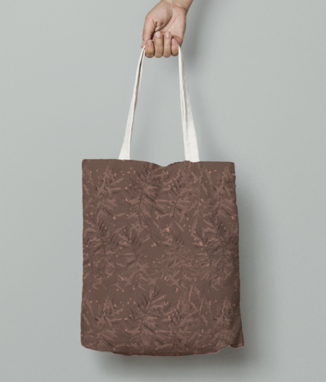 Bamboo tote bag front