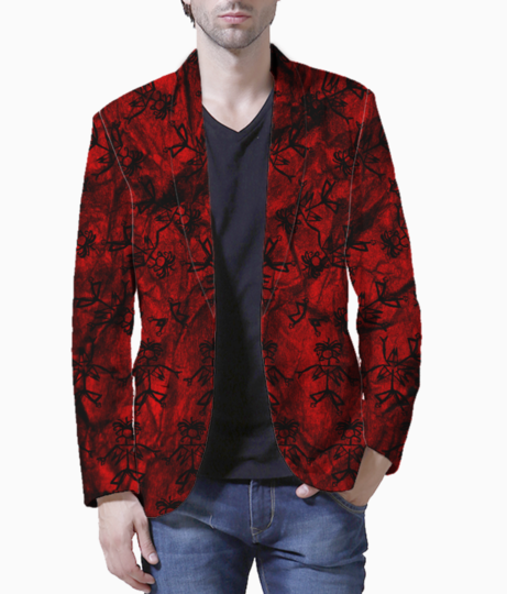 Bloody past blazer front