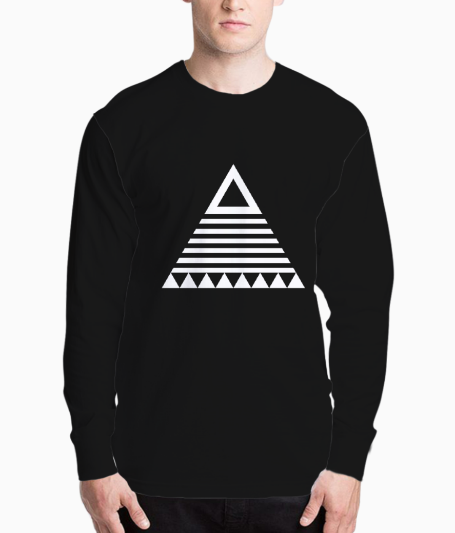 Aztec triangle henley front