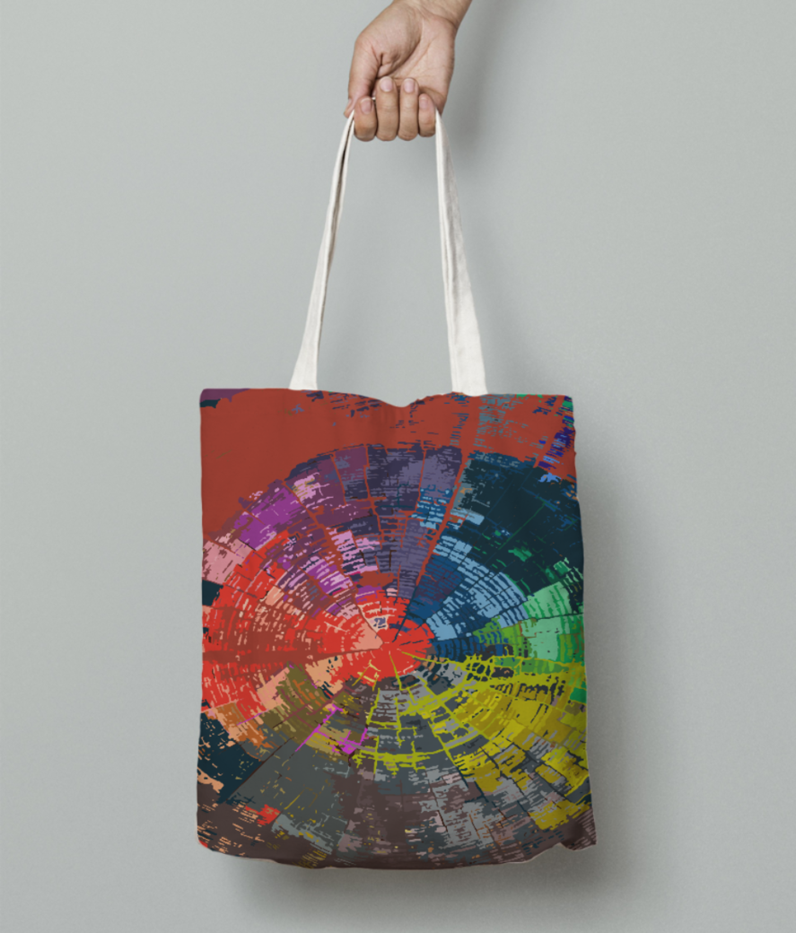 Abs tote bag front