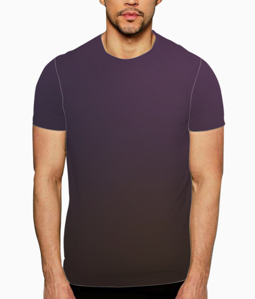 Violet blurred abstract t shirt front