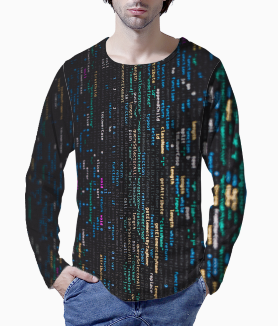 Digital paralle henley front