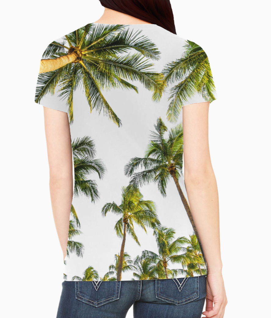 Coconut fall tee back