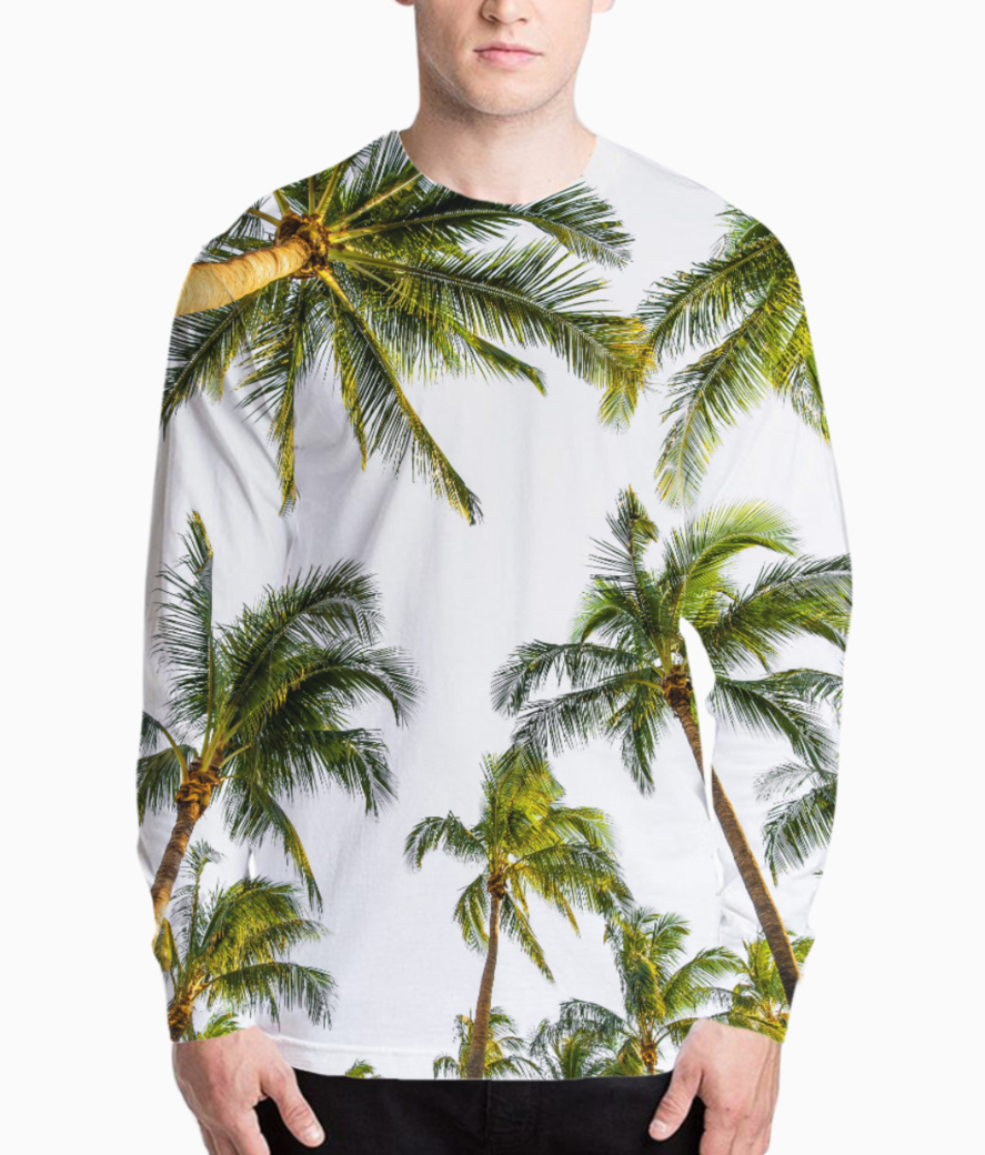 Coconut fall henley front