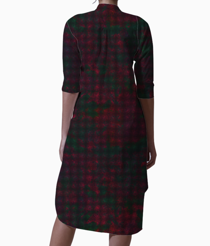 Checkers kurti back
