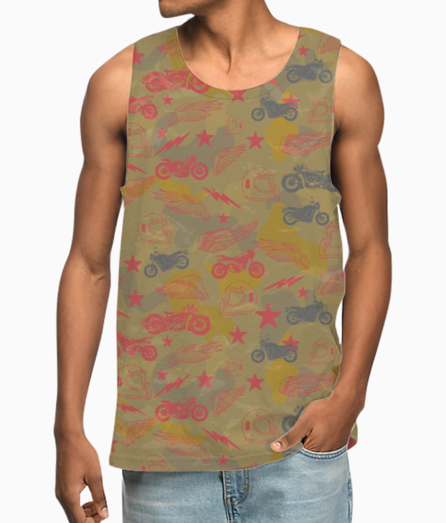 Bikes from heaven vest front