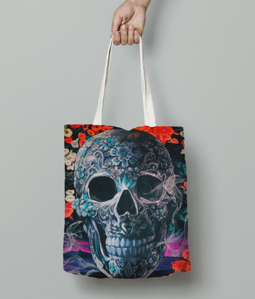 Smokier dream tote bag front