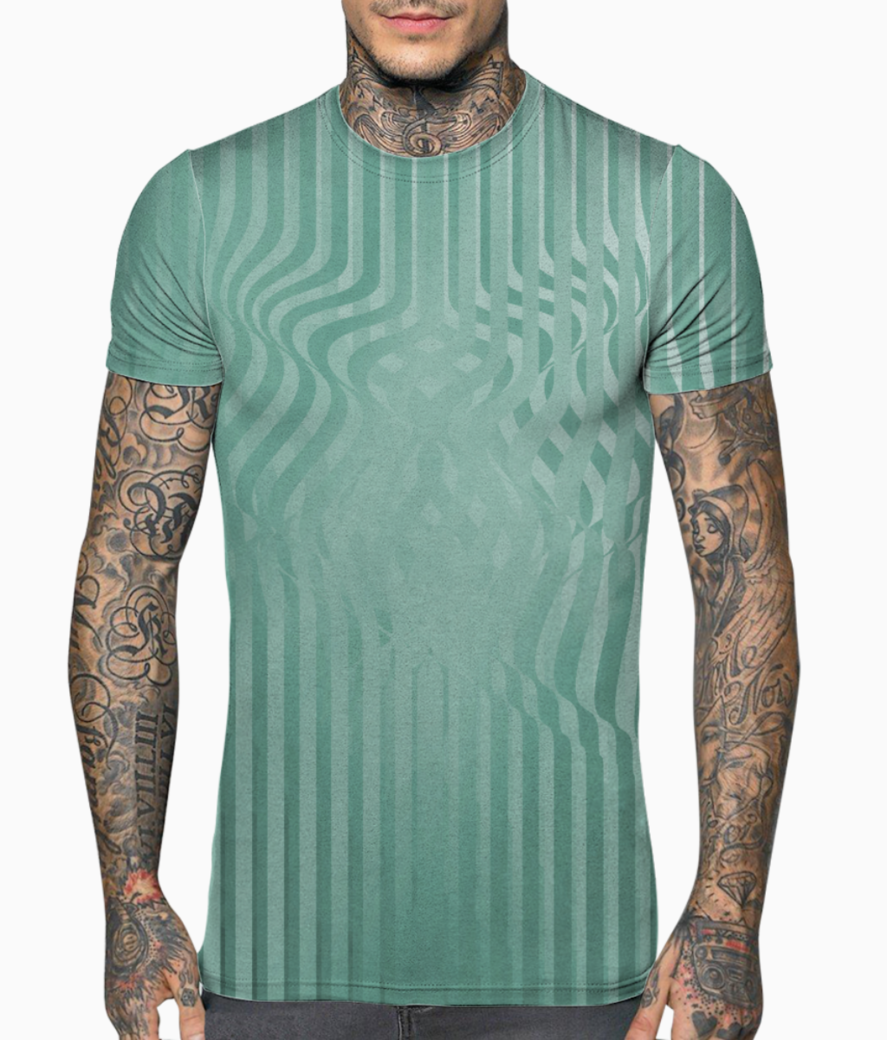 Light sea green t shirt front