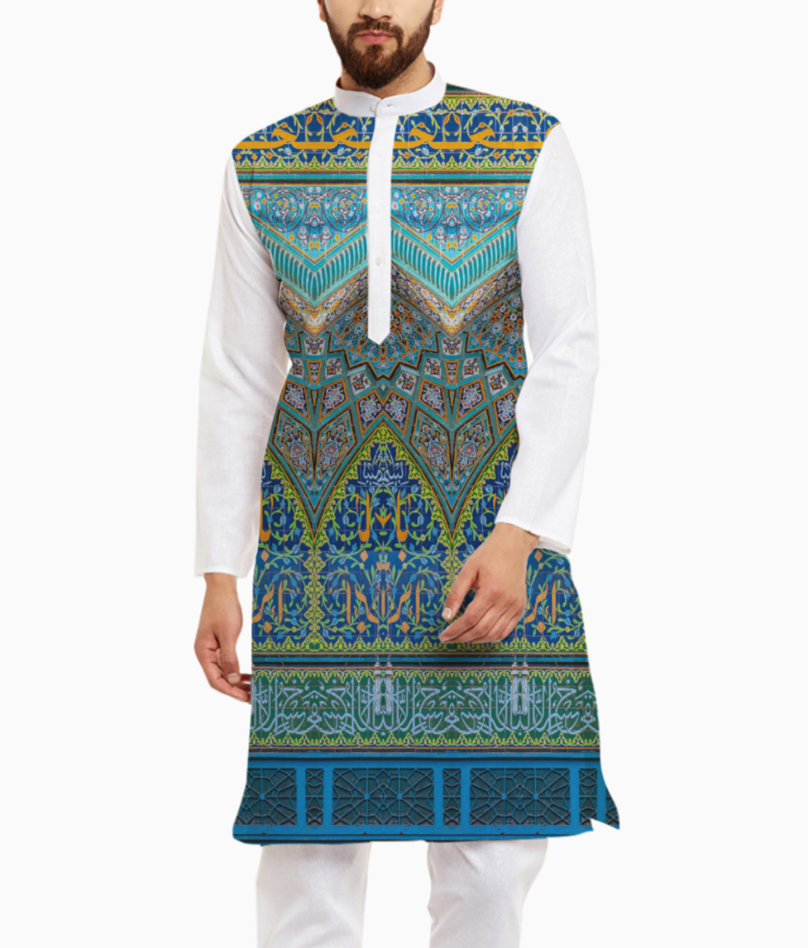 Mosque inspired kurta front