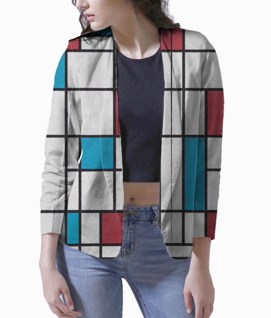 Line color blazer front