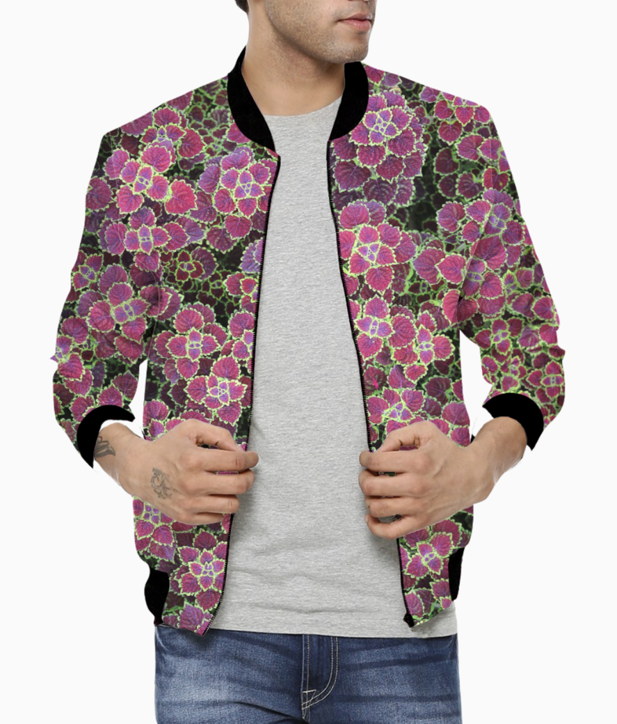 Pinky minky bomber front
