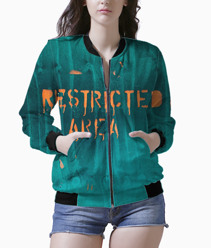 Restricted bomber front