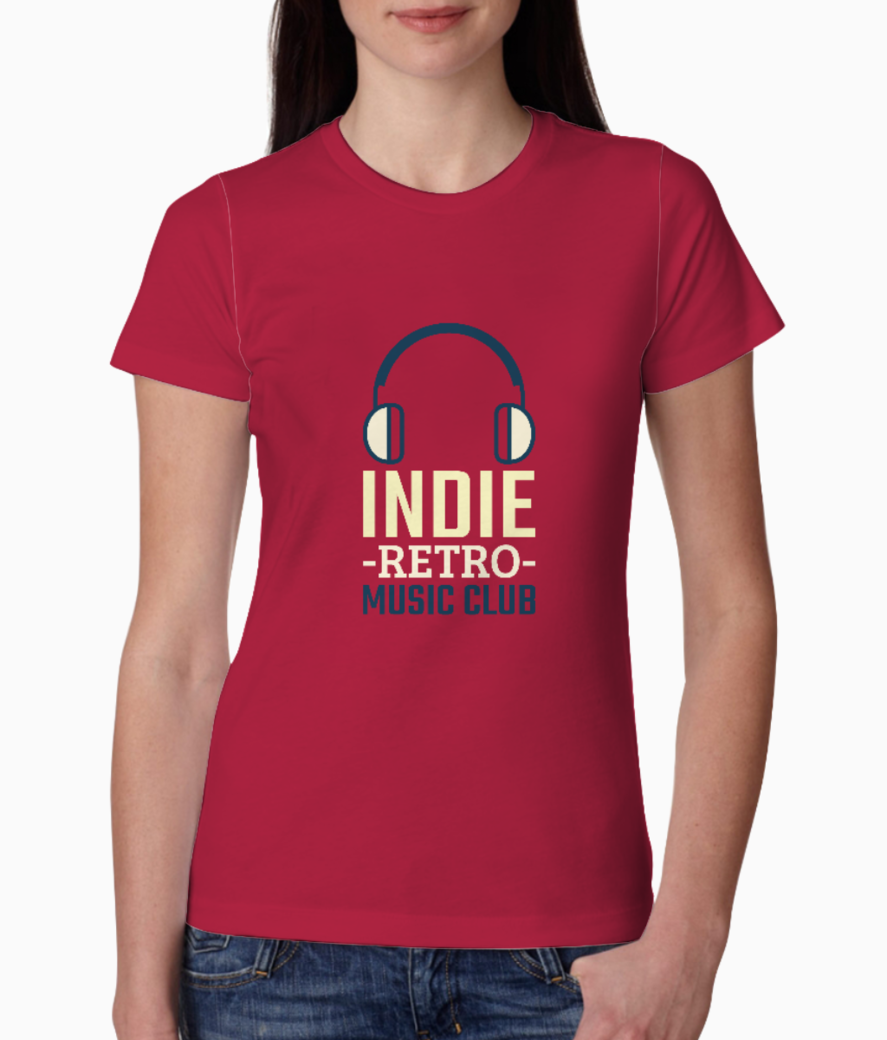 T shirt maker for a cool music club 201f 160 el tee front