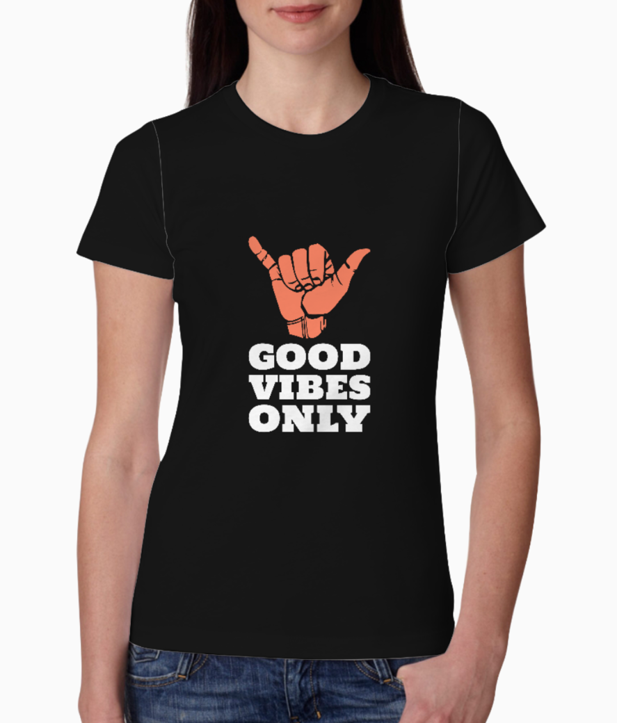 Simple center aligned t shirt design template 1152 tee front