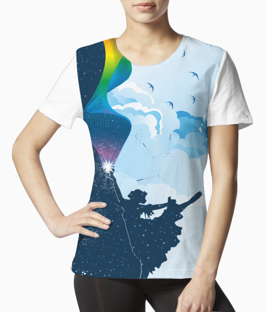 Dream of day and night tee front