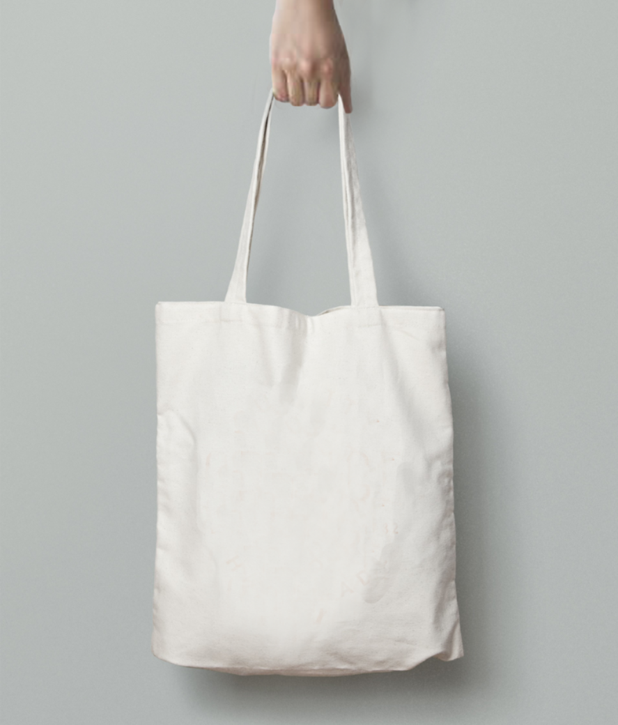 Cool in hot tote bag back