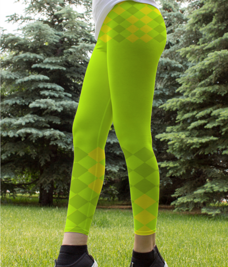 Untitled 23 leggings front