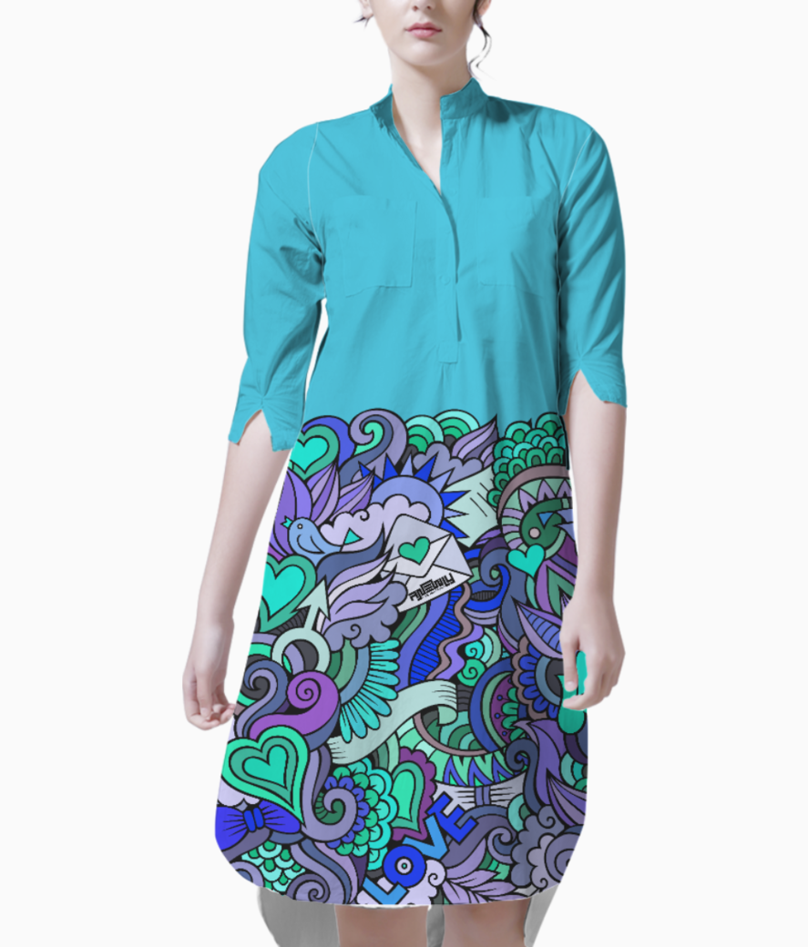 Anewly rds 002a kurti front