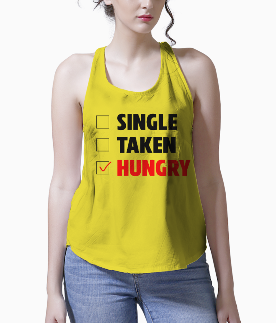Hungryy tank front