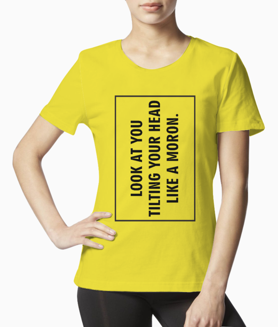 Look at you tee front