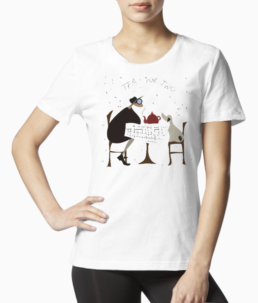 Dog tee front