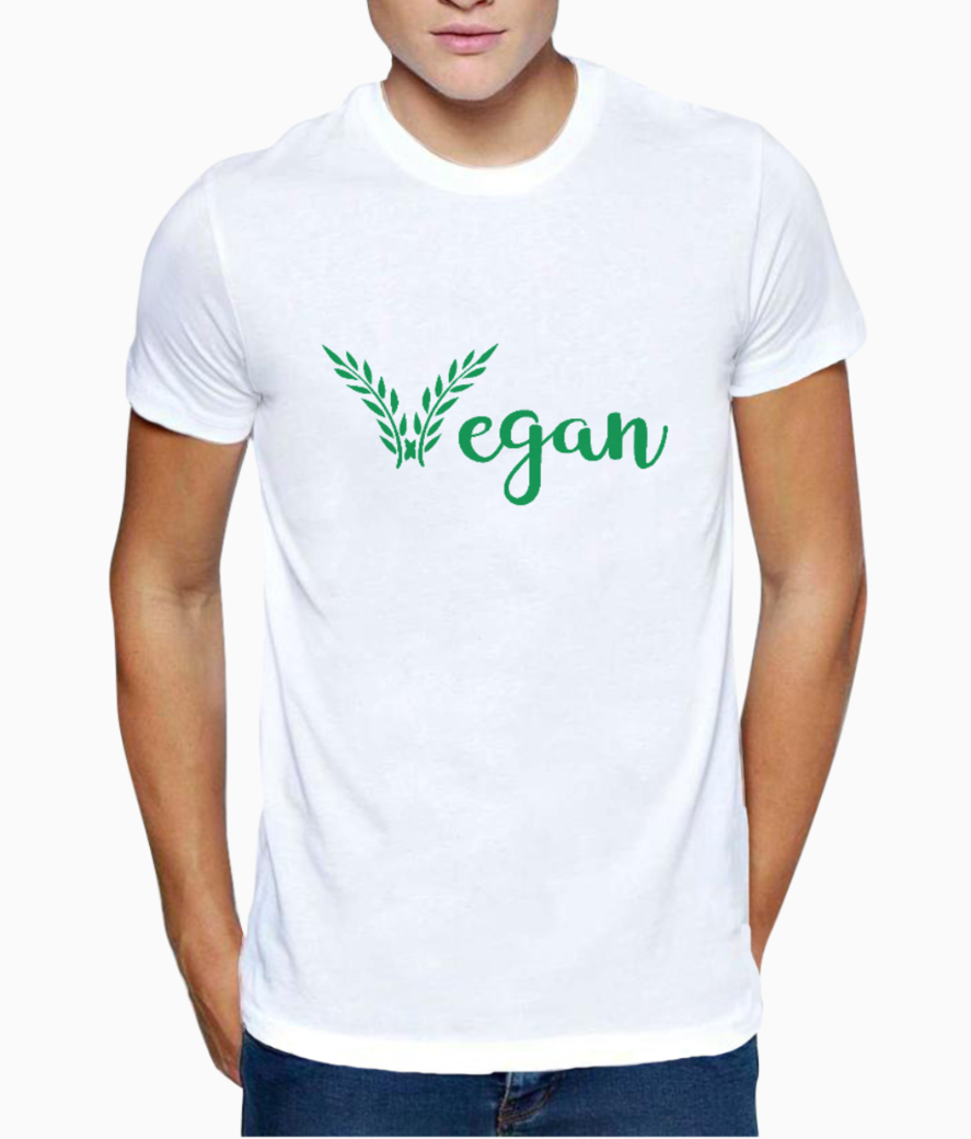 Vegan t shirt front