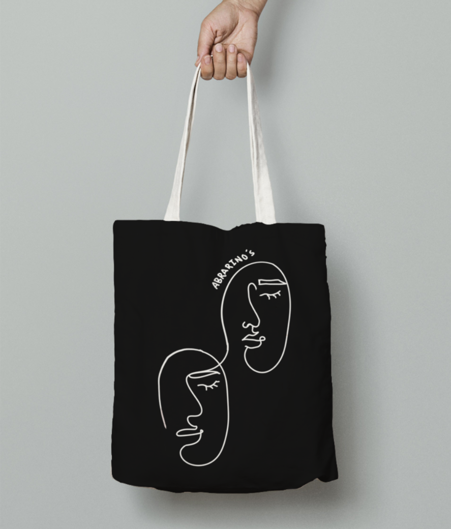 Redsyn disgn 2 tote bag front